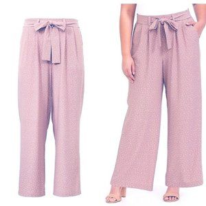 Torrid Polka Dot Crepe Wide Leg Pants | SIZE 0